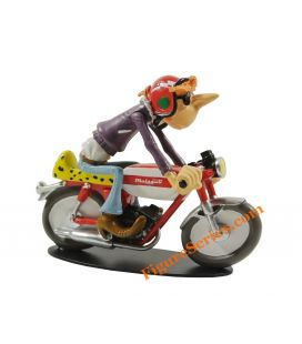 Figurine Joe Bar Team 50 Malaguti moped race