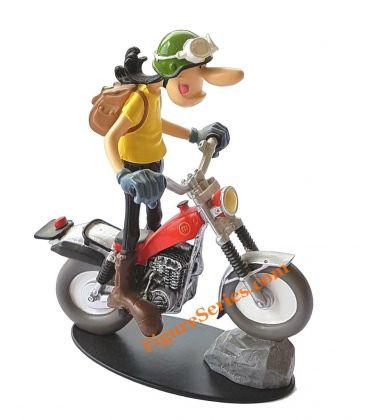 Resina de figurita moto de trial de Joe Bar Team MONTESA COTA