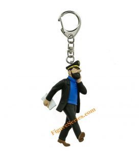 Captain HADDOCK and his diary keyrings