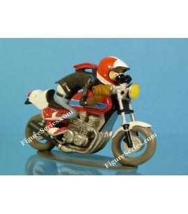 HONDA 900 gold bowl resin motorcycle figure