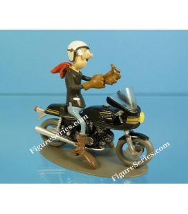 Figurine moto en résine HONDA 900 bol d'or