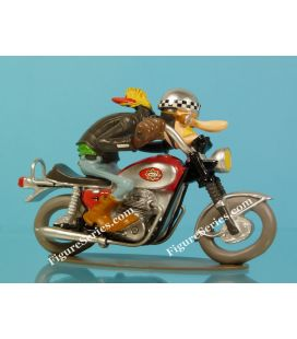 Figurine moto en résine BSA 650 Lightning