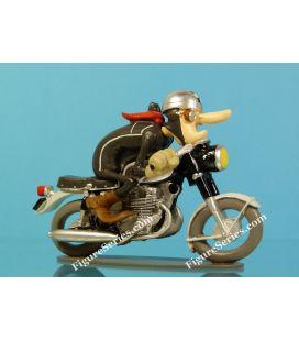 Figurine moto en résine HONDA 450 CB