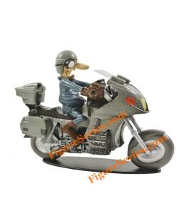 BMW K 1100 LT Joe Bar Team figurine résine moto allemande
