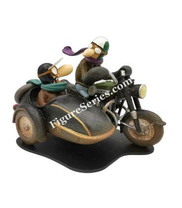 Joe Bar Equipo sidecar MOTO GUZZI V 850 GT Watsonians BD