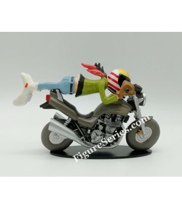 Miniature en résine Joe Bar Team HONDA sevenfifty free style