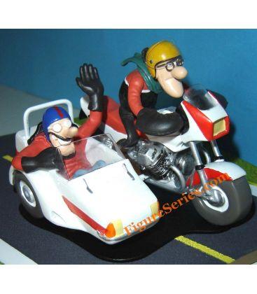 Joe Bar Team Side Car MOTO GUZZI 1000 Le Mans Béringer figurine résine