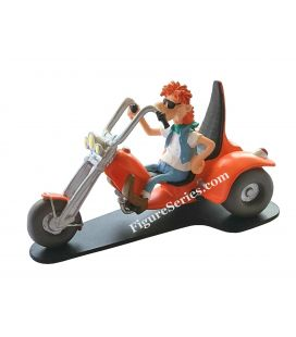 Figurine Joe Bar Team 3-wheeled motorcycle mechanics TRIKE