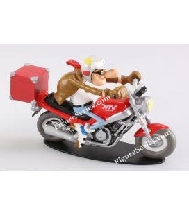 Figurita equipo Joe Bar motocicleta HONDA NTV 650