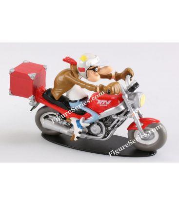 Figurine Joe Bar Team moto HONDA 650 NTV