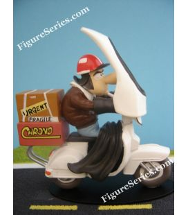 Scooter de Joe Bar Team em miniatura resina PIAGGIO VESPA 125 px