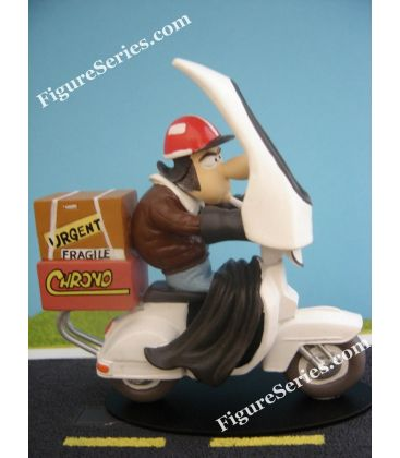 Miniatuur hars Joe Bar Team scooter PIAGGIO VESPA 125 px