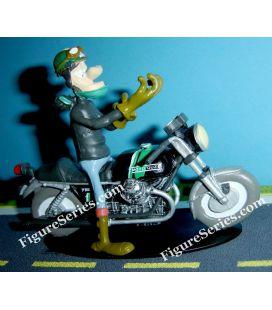 Miniature resin Joe Bar Team Moto Guzzi 750 s