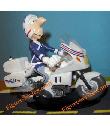 BMW K 1300 S politie motorfiets beeldje hars Joe Bar Team