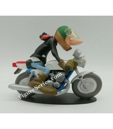 SUZUKI 250 T2 coursifiée Joe Bar Team figurine résine moto