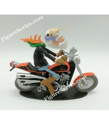 HARLEY DAVIDSON XR 883 Sporstrack Joe Bar Team figurine résine moto