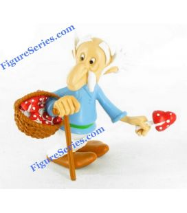 Figurine resin Geriatrix old villagers collection asterix