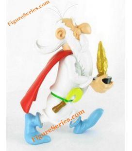 De resina de la figurita de colección de Astérix druida Panoramix