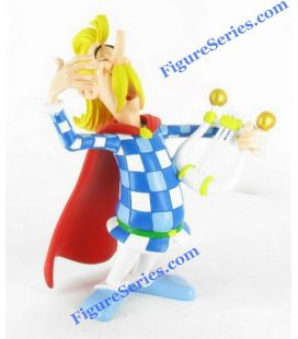 Resin cacofonix the Bard asterix collection figurine