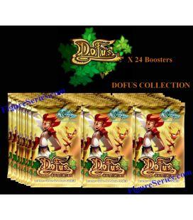24 Karten glänzend WAKFU DOFUS Pakete französischer Verstärker Sammelbox