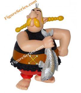 UNHYGIENIX a figura de resina de ASTERIX Gália peixeiro