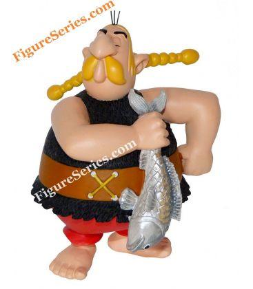 UNHYGIENIX de visboer Gallië-ASTERIX hars figuur