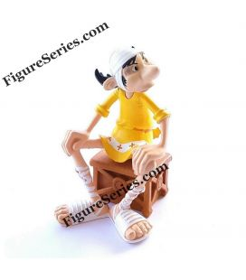 SQUAREONTHEHYPOTHENUS figurine resin ASTERIX the mansions of the gods