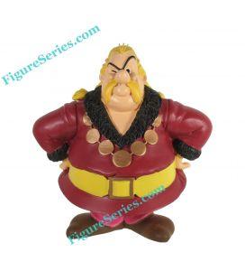 HOMEOPATIX trader Gaulois figurine in resin Asterix