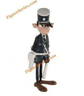 Agent LONGTARIN Figur aus Harz GASTON LAGAFFE