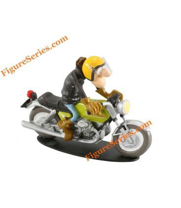 MOTO GUZZI 750 V7 sport beeldje hars Joe Bar Team