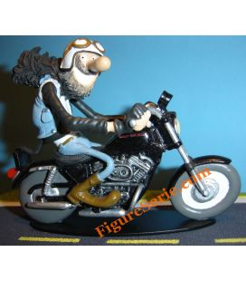Sportster de resina Joe Bar Team HARLEY DAVIDSON 883 en miniatura