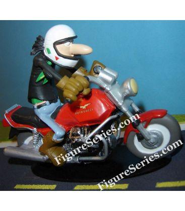 MOTO GUZZI Mille GT figurine resin Joe Bar Team Armand Dello