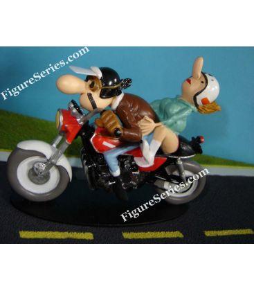Miniatuur hars Joe Bar Team Honda 750 vier