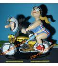 FLANDRIA SP 737 figurine resin motorcycle Joe Bar Team