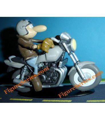 YAMAHA XJR 1200 motorfiets Joe Bar Team hars figuur